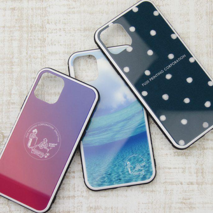 強化ガラス製 iPhoneケース