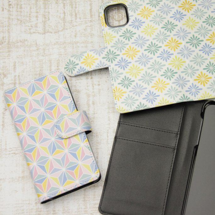 手帳型iPhoneケース印刷(フラップ付)
