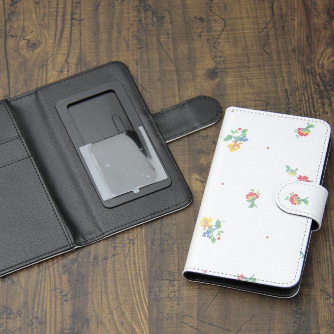 手帳型スマホケース印刷(汎用タイプ)
